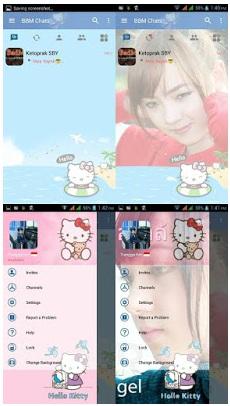 BBM Hello Kitty Apk