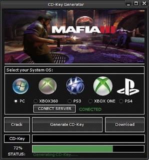 Mafia III Key Generator (Free CD Key)