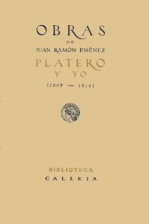 Platero y yo - Primera edición completa - 1917