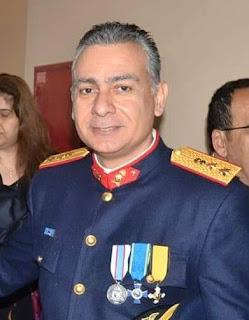 Διοικητής της Πυροσβεστικής Υπηρεσίας  ο αντιπύραρχος Δ. Γεωργανάς