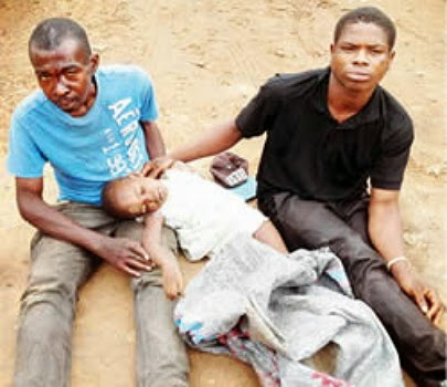 dead baby in sack abia