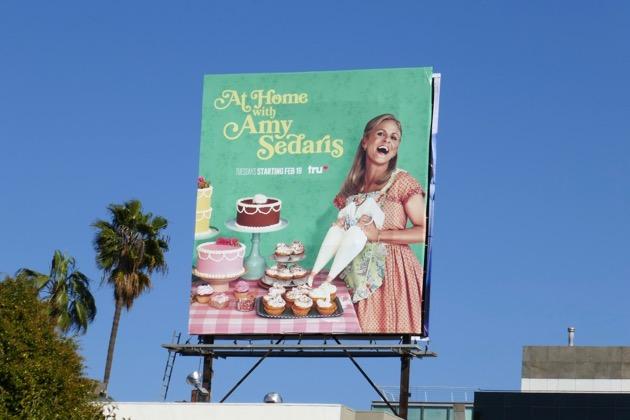 At Home Amy Sedaris season 2 billboard