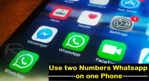 Use two numbers Whatsapp On one Phone - Most Advanced Technology Tricks