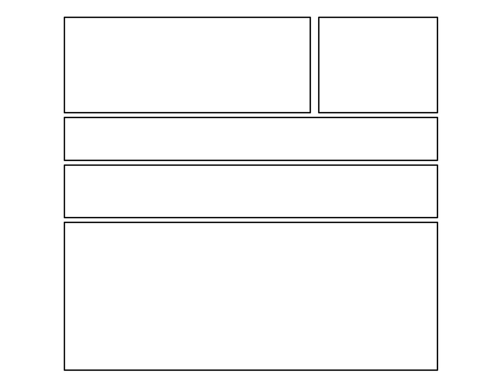 3rd Grade Second Batch Of Comic Templates