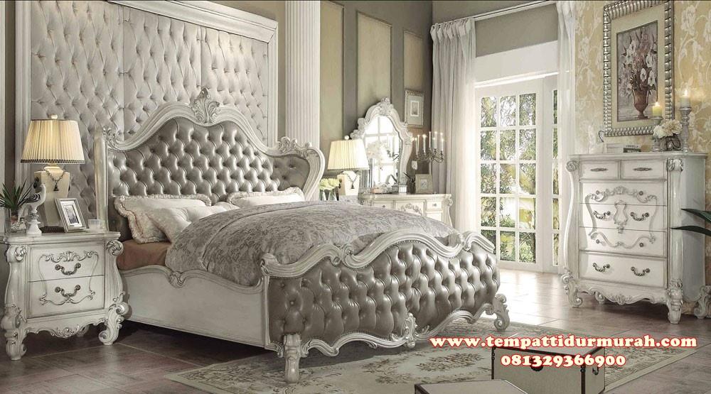 Kamar Set Pengantin Klasik Putih