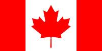 Le Chameau Bleu - Drapeau du Canada