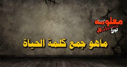 جمع كلمه الحياه Youtube 10