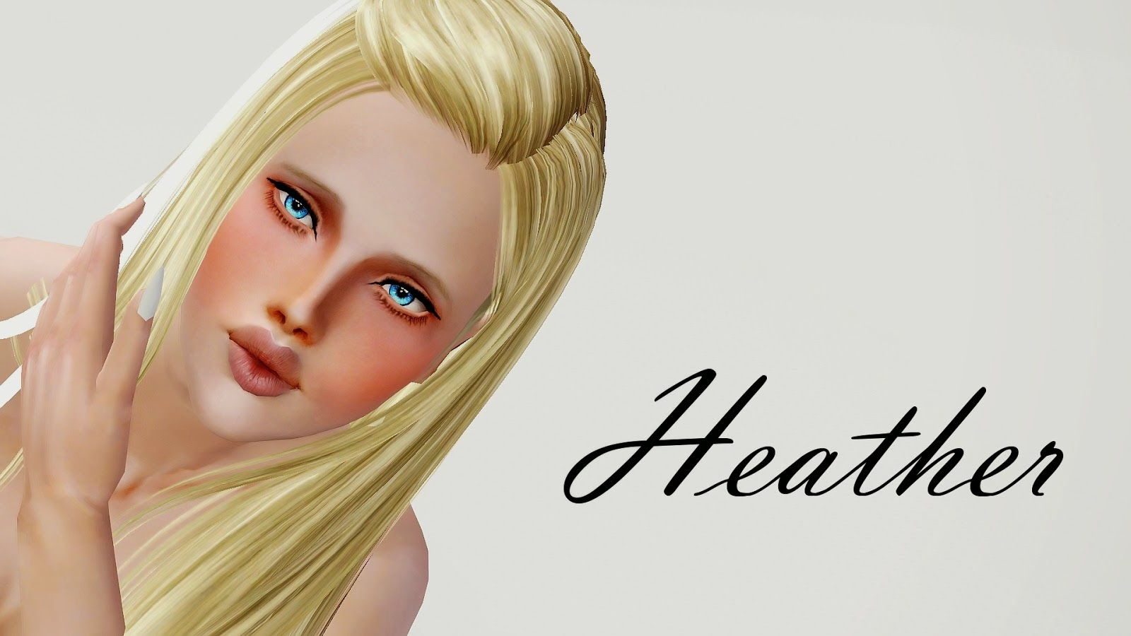 Chii from Chobits Hair Maxis Match by Wiccan at Mod The