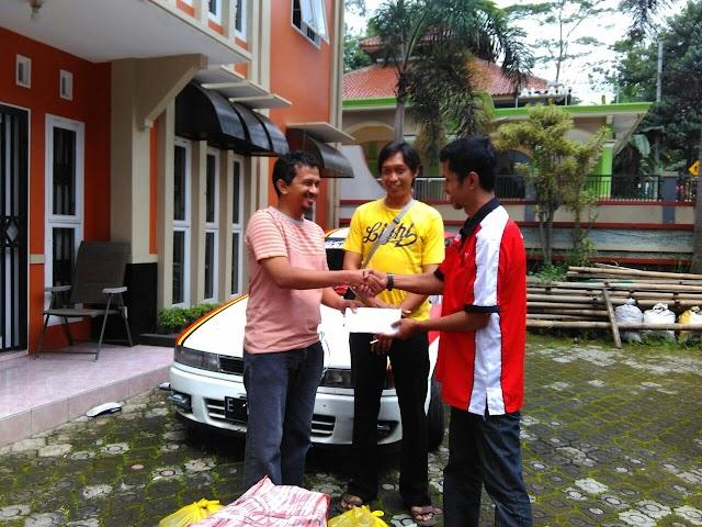 Komunitas Lancer DanGan Indonesia Peduli Korban Bencana