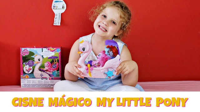 Cisne Magico Pinkie Pie My Little Pony - Blog Mama de Noa