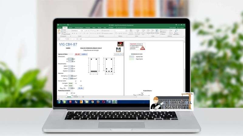 Diseño y Análisis de Vigas de Hormigón Armado - Excel