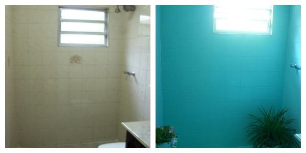 Quem casa quer casa ou ap tinta ep xi para azulejo vamos renovar - Como pintar sobre azulejos ...