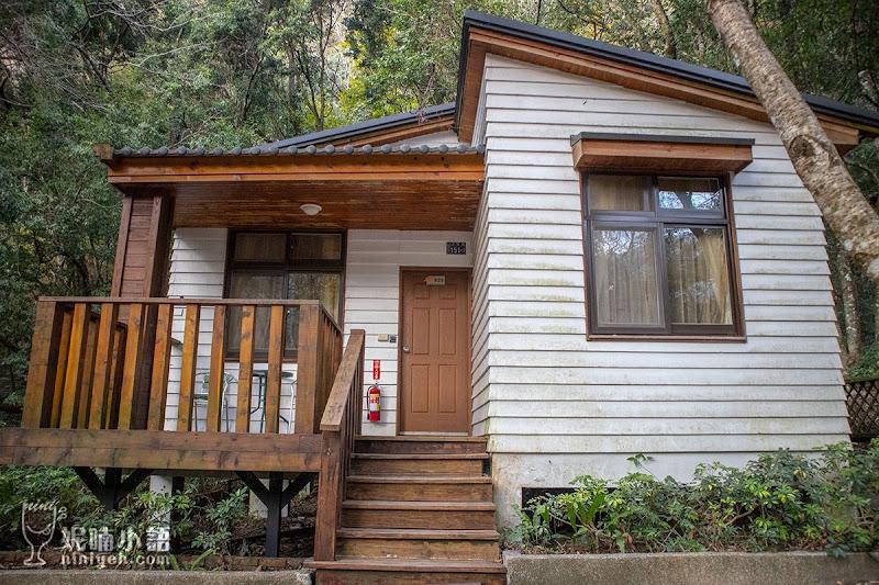 【奧萬大住宿推薦】南投奧萬大小木屋。一房難求的歐風庭園小木屋