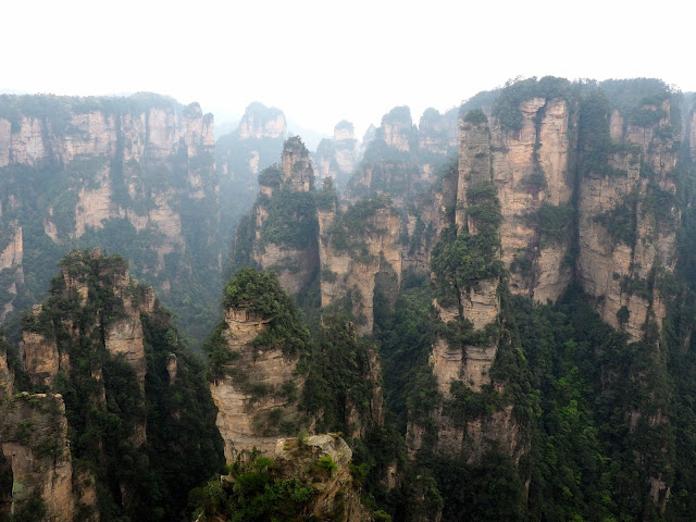 Yuanjiajie area of Zhangjiajie National Park, China