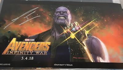 """Mostradas las figuras de Thanos, sus hijos y el guantelete den infinito en """"Avengers: Infinity War"""""""