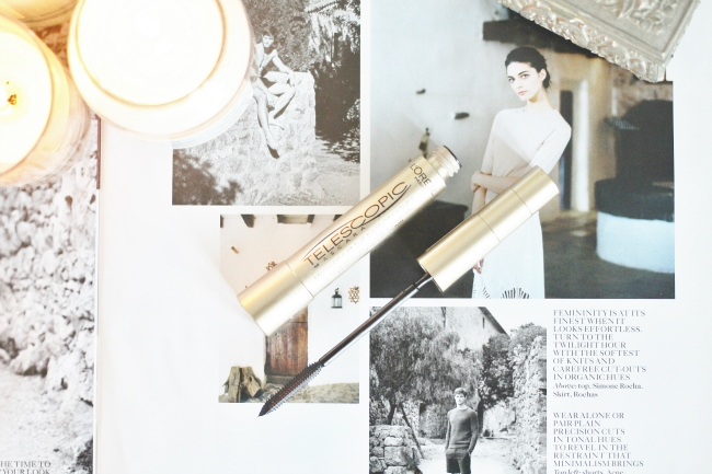L'Oreal Paris Telescopic Mascara Review UK Beauty Blogger Superdrug Boots