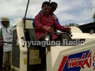 Menteri Pertanian Rencananya Akan Panen Padi di Kabupaten OKI