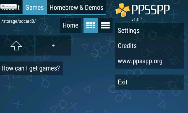 Download Emulator PSP / PPSSPP Gold v1.3.0.1 Apk Full Version
