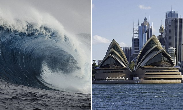 Experts Warn A Catastrophic 60 Meter High Tsunami Could Hit Australia