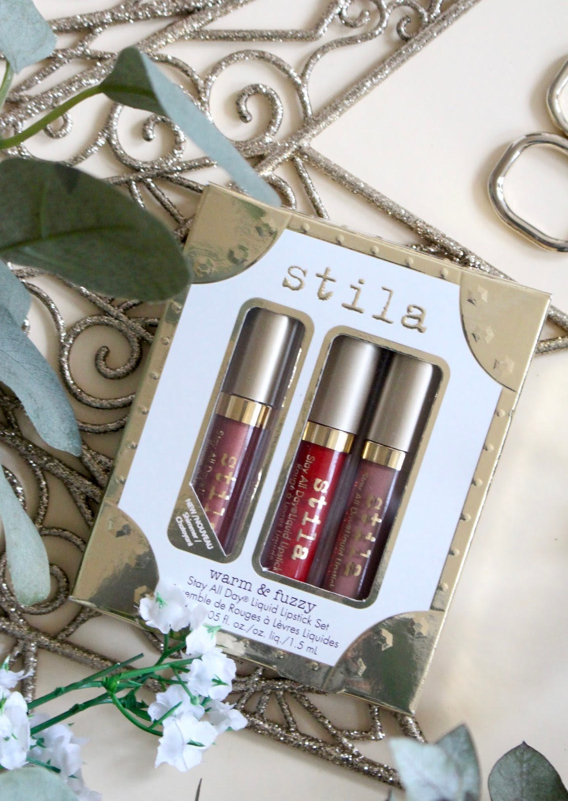 Stila warm and fuzzy gift set