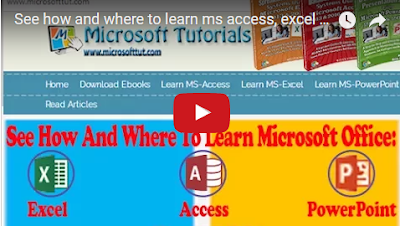 how to learn ms office packages with ease