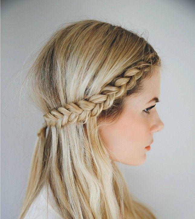 Rambut Kepang Samping. Apakah anda seorang perempuan yang suka akan  keindahan rambutnya sendiri dan sering pergi ke 10 Model 7cb5a6d25c
