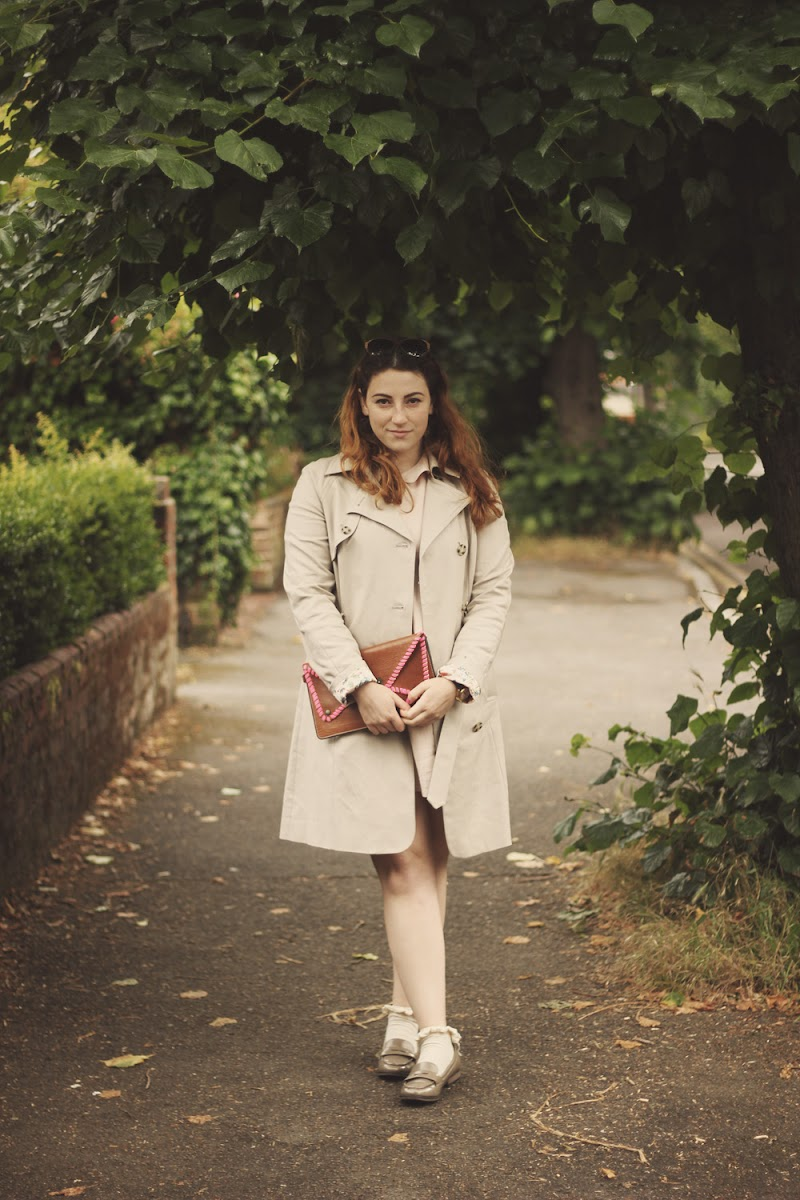 how to wear a trench coat outfit