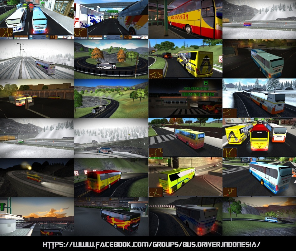 Bus Driver Indonesian Mod - SCS Software