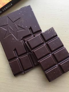 Montezuma's Dark Chocolate with Rose & Vanilla Bar