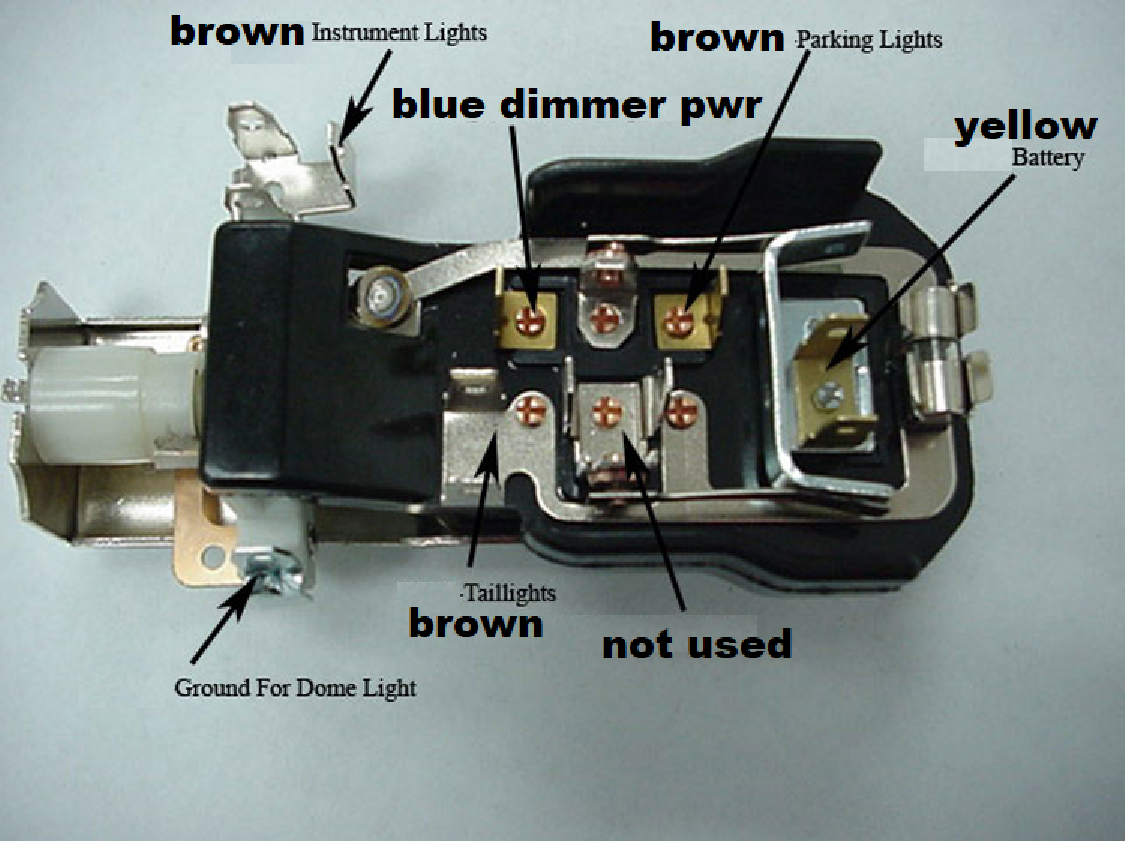 Wiring A Gm Headlight Switch