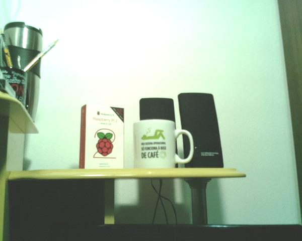Raspberry Imagem Câmera 1280x1024