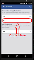 how to turn off game notification facebook