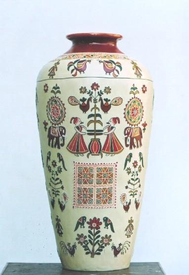 Indian Kutch pottery