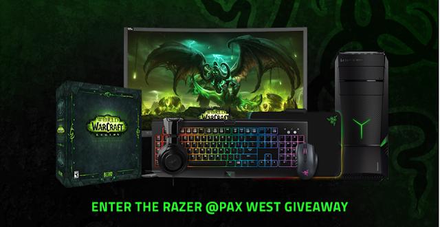 Razer PAX West Giveaway