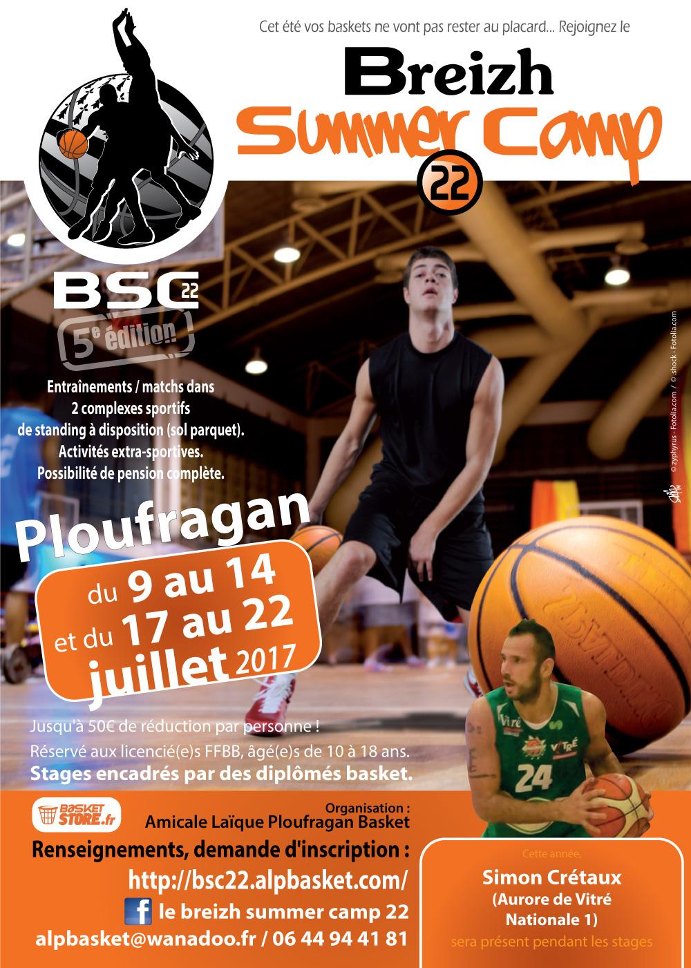 Glazik PumBasket: Camp de basket-ball juillet 2017 à Ploufragan ...