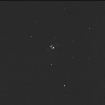Gemini planetary nebula in oxygen