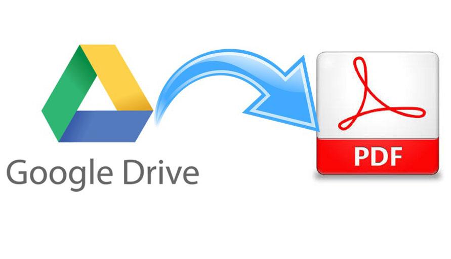 Cara Mudah Membuat File Pdf Dengan Google Drive Warta Iptek
