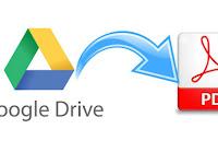 Cara Mudah Membuat File PDF Dengan Google Drive