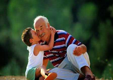 kakek dan cucu
