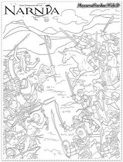 Gambar Mewarnai The Chronicles Of Narnia Mewarnai Gambar