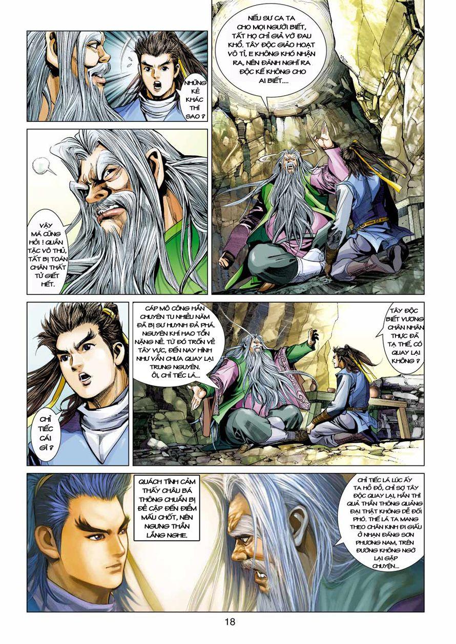 Anh Hùng Xạ Điêu anh hùng xạ đêu chap 41 trang 17