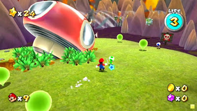 Super Mario Galaxy Screenshot 2