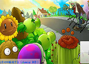 Plants vs zombies guerra jardin