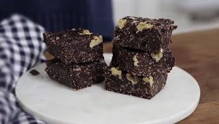 pişmeyen browni yapımı - raw brownie tarifi - KahveKafeNet