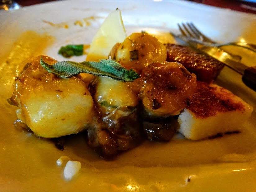 Restaurantes em Carlos Barbosa: Casa Borsoi - Nhoque de batata doce