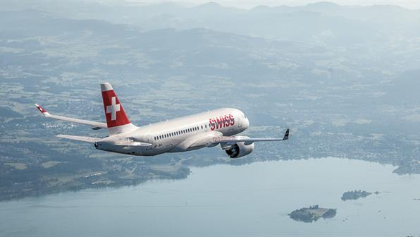 Η πρώτη εμπορική απευθείας πτήση της SWISS από Γενεύη  στην Καλαμάτα