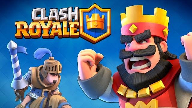 Clash Royale APK - Magazine cover
