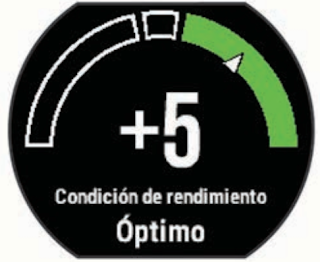garmin performance condition