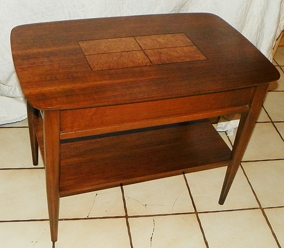 Lane Burl Wood Coffee Table: Vintage Finds, Mid Century And More At Evie's Haus: Tiered
