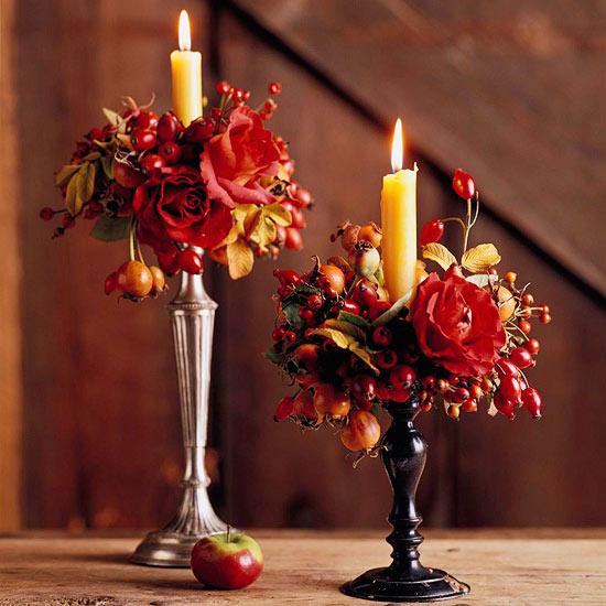 Elegant Fall Table Arrangements: Perception In Print: Elegant Thanksgiving Centerpieces